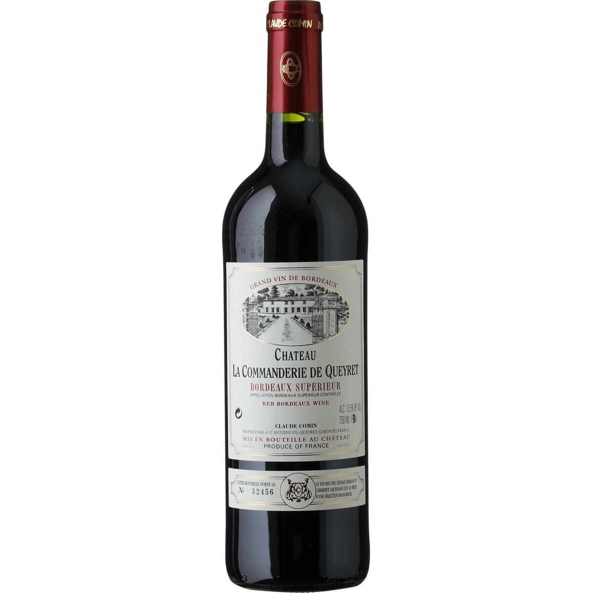 Image of Chateau La Commanderie Queyret Bordeaux Superior