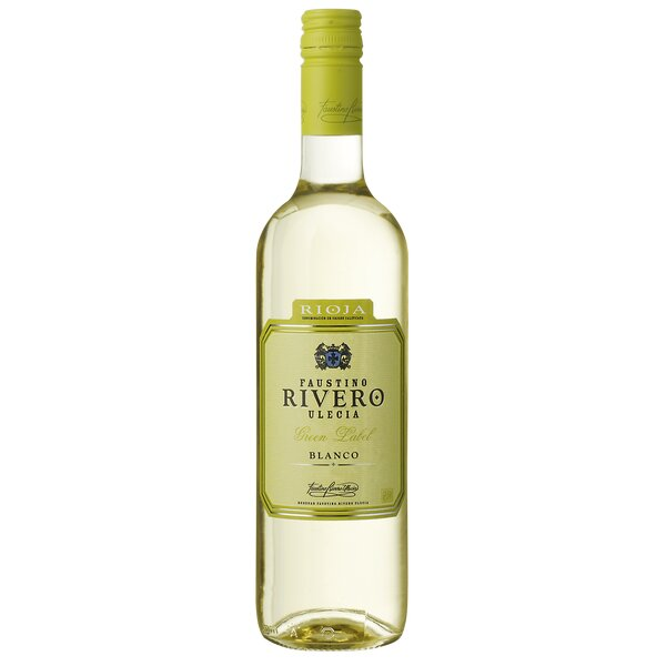 Faustino Rivero Blanco Green label