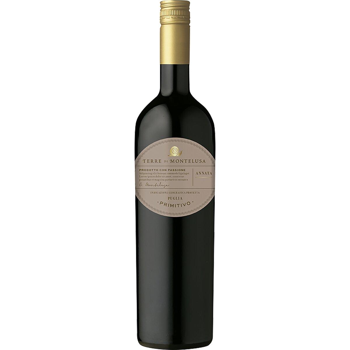 Terre di Montelusa Primitivo IGT Puglia - Botter Wines - , , , ,