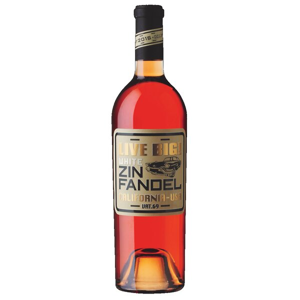 LIVE BIG! White Zinfandel