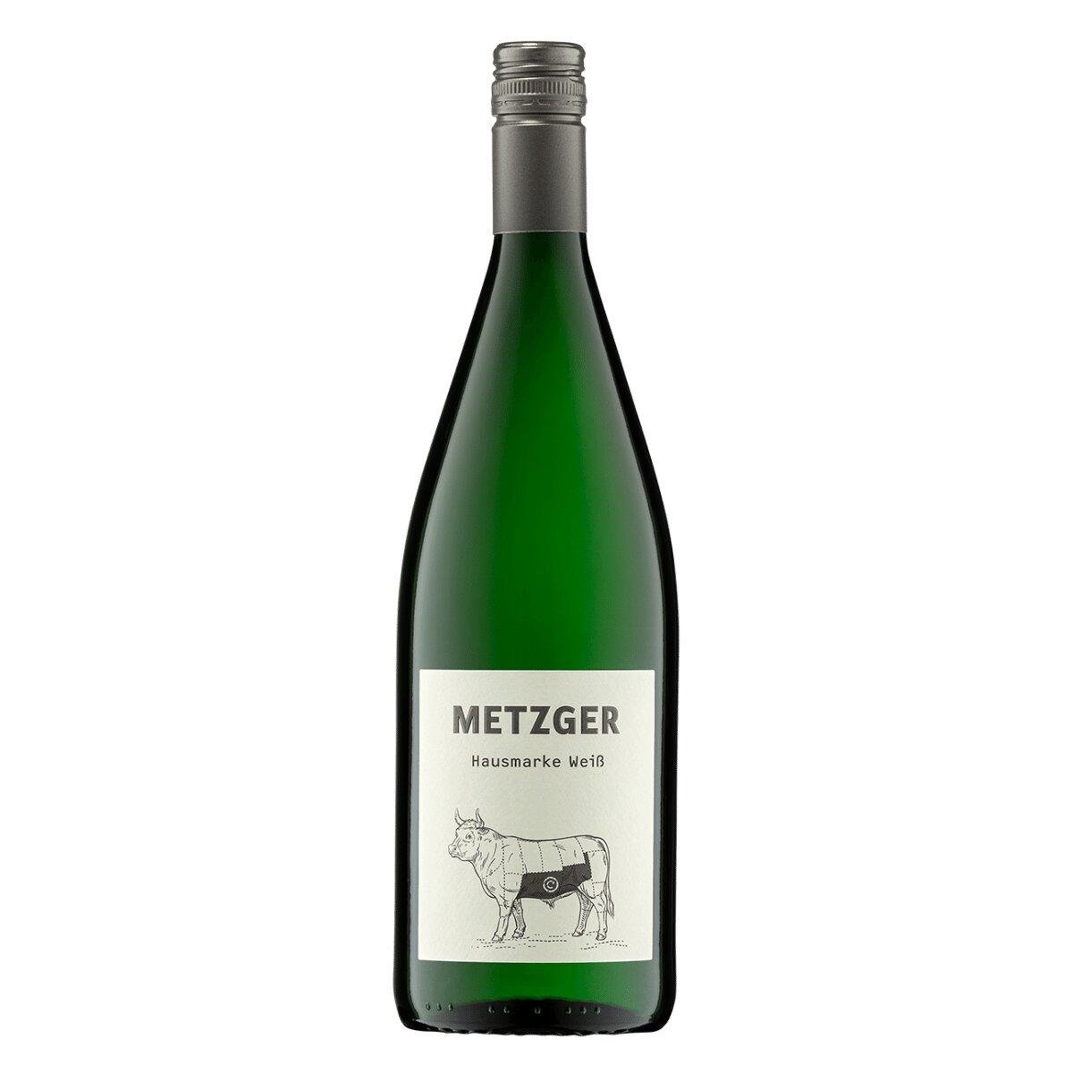Metzger Hausmarke Weiß 1,0l - Weingut Uli Metzger - , , , ,