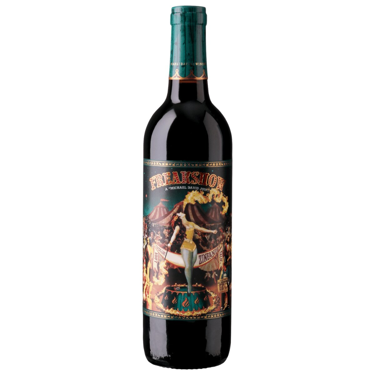 Freakshow Zinfandel Lodi California - Michael David Winery - , , , ,